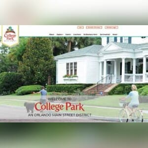 College Park Main Street just launched a new website designed to promote the district to residents and visitors. COLLEGEPARKMAINSTREET.COM