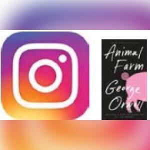 """@j.enny_ lynn """"Animal Farm"""" by George Orwell."""